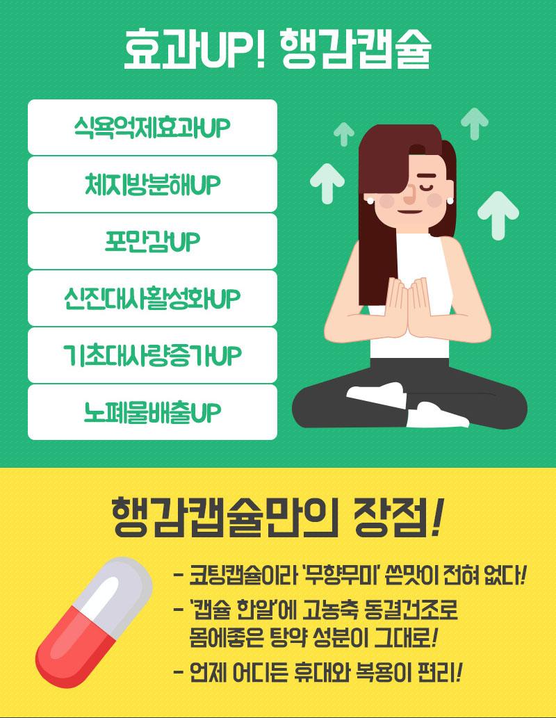 굶지않고 다이어트 성공하기! 행감캡슐